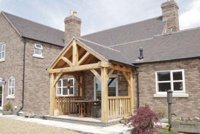 oak & home timber porch