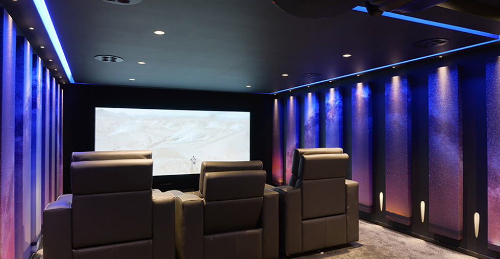 Quest End home cinema
