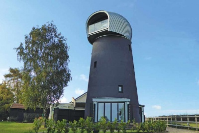 A windmill conversion in Suffolk