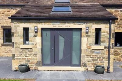 Slate Grey Entrance Door