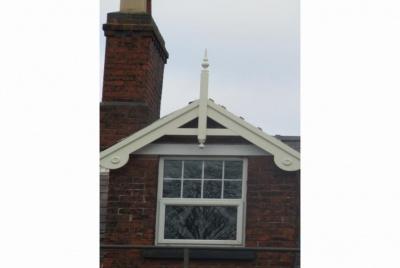 Allan calder roof finial