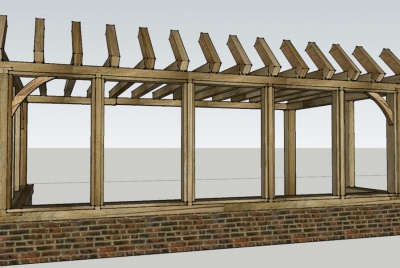 tradoak 3D Framing and Design