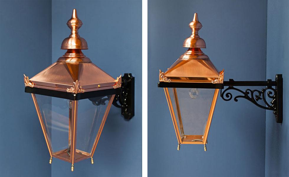 victorian lighting copper