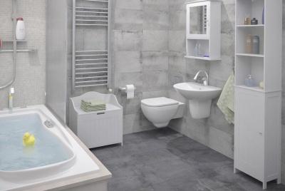 colonial bathroom set