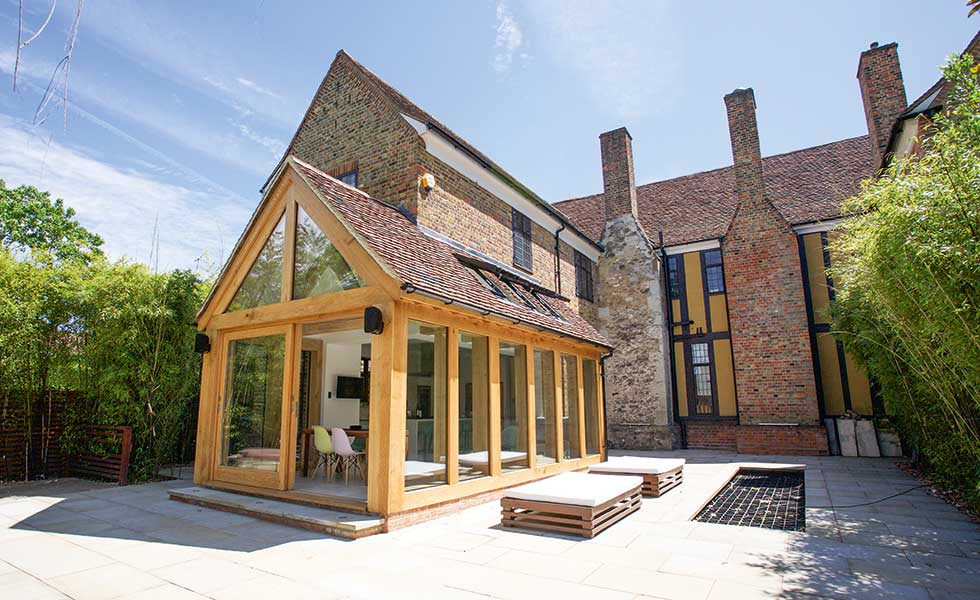 How To Add An Oak Frame Extension Homebuilding Amp Renovating