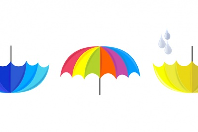 raindrop harvest colourful umbrellas