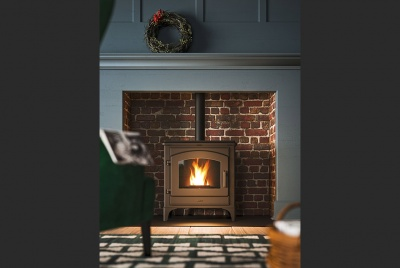 specflue The renewable energy of a MCZ Deco stove adds a classic finishing touch