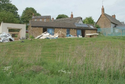 stable conversion on the site of Charlie's self build