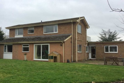 a home that is to be remodelled to make it energy efficient