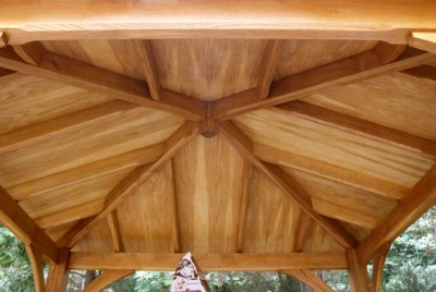 edward & Hampson bespoke joinery roof
