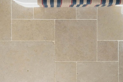 floors of stone Dijon Tumbled Limestone