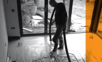 selfbuild & contract floors flowing screed installation