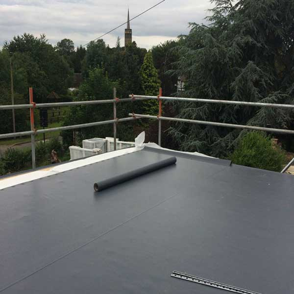 Sarnafil roof membrane