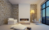 percy doughty vision trimline white room exposed brick