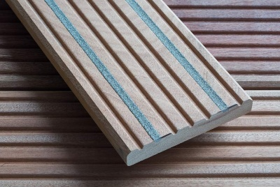 Q-Grip Bangkirai Slip Resistant Hardwood Decking