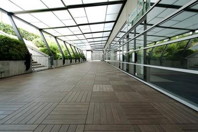 deck tile walkway