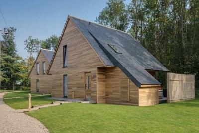 cupa slate roof lodge