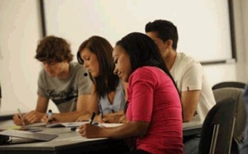 gen students working 317