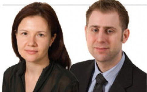 Vera Shaftan, senior associate, and William Stroll, associate, Norton Rose