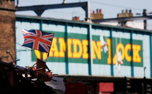 Union Jack market flag