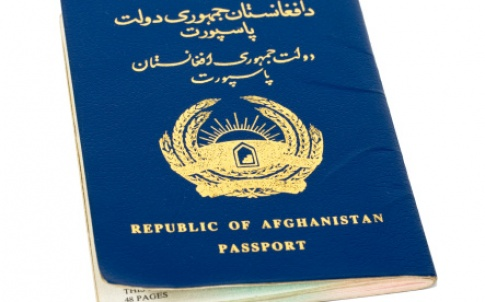 Afghanistan immigration passport