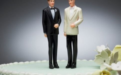 diversity LGB LGBT wedding cake groom