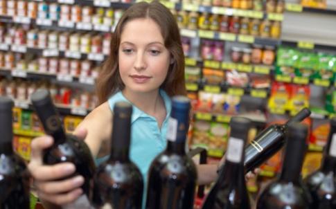 supermarket alcohol booze drinks