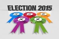 Election 2015 vote