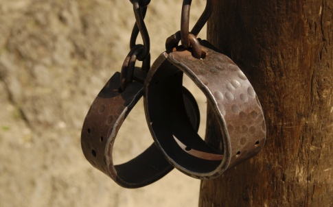chains slave shackles