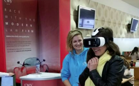 CMS virtual reality