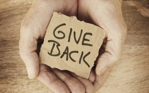generosity giving donation