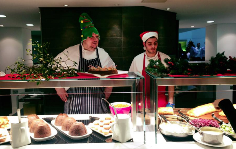 Christmas dinner at Linklaters