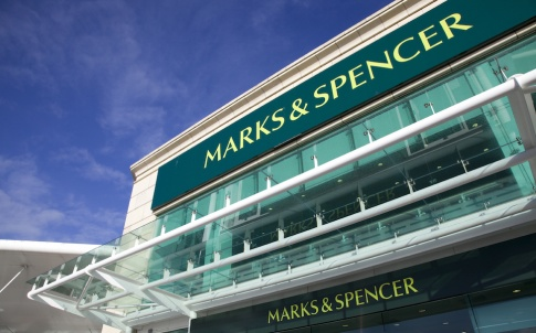 Marks and Spencer Shop Signage