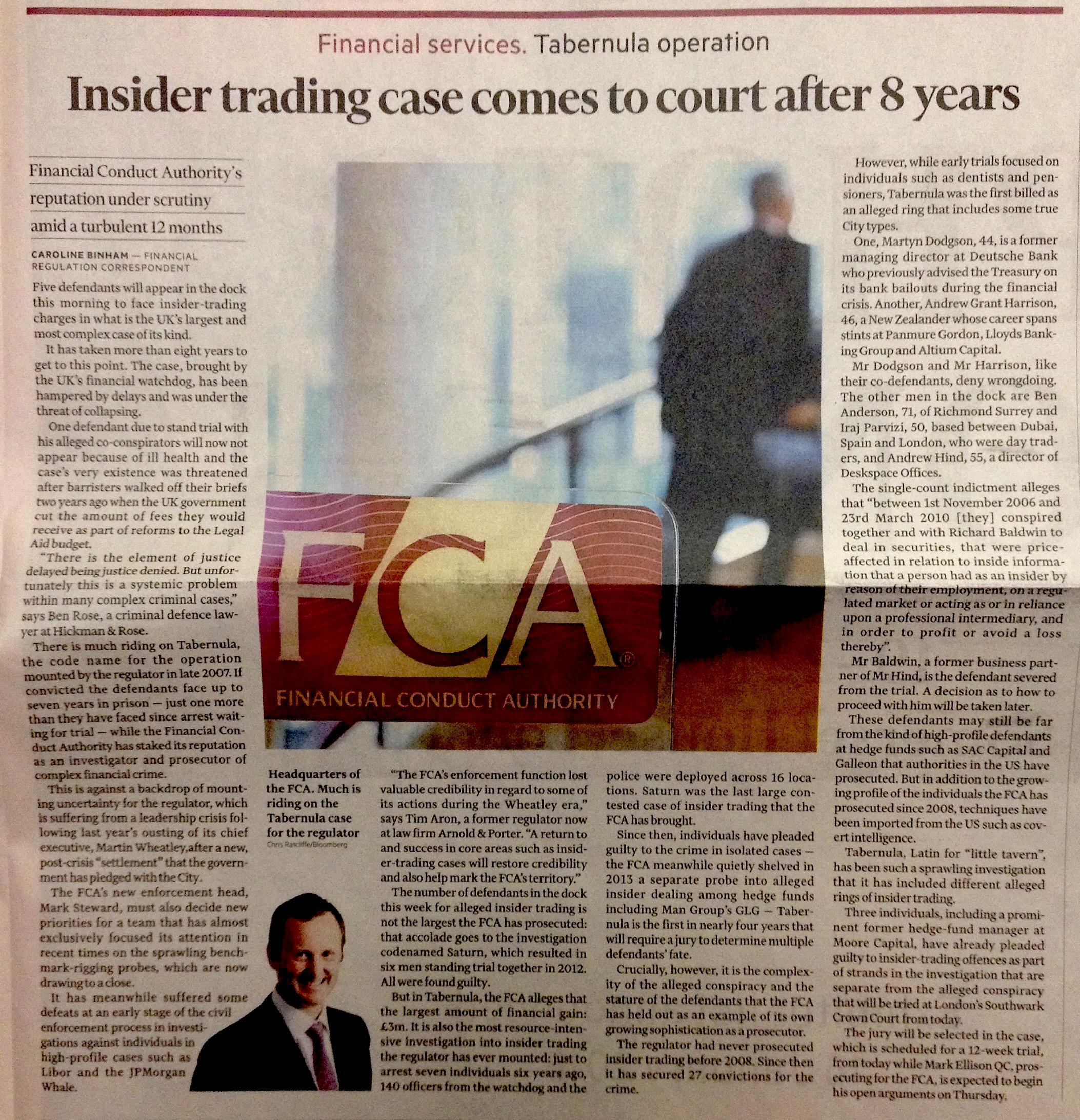 What the FT Insider trading