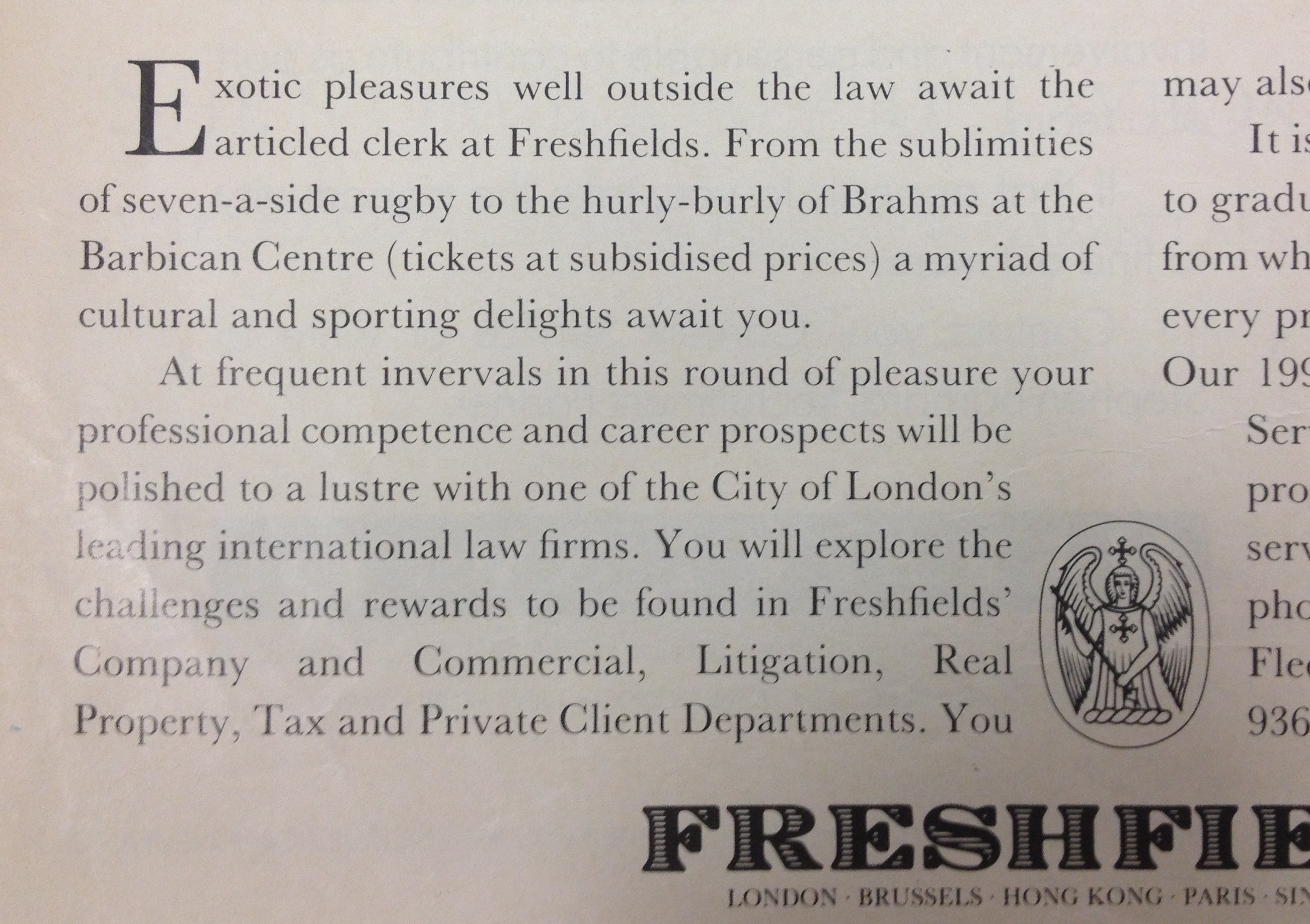 Freshfields blurb