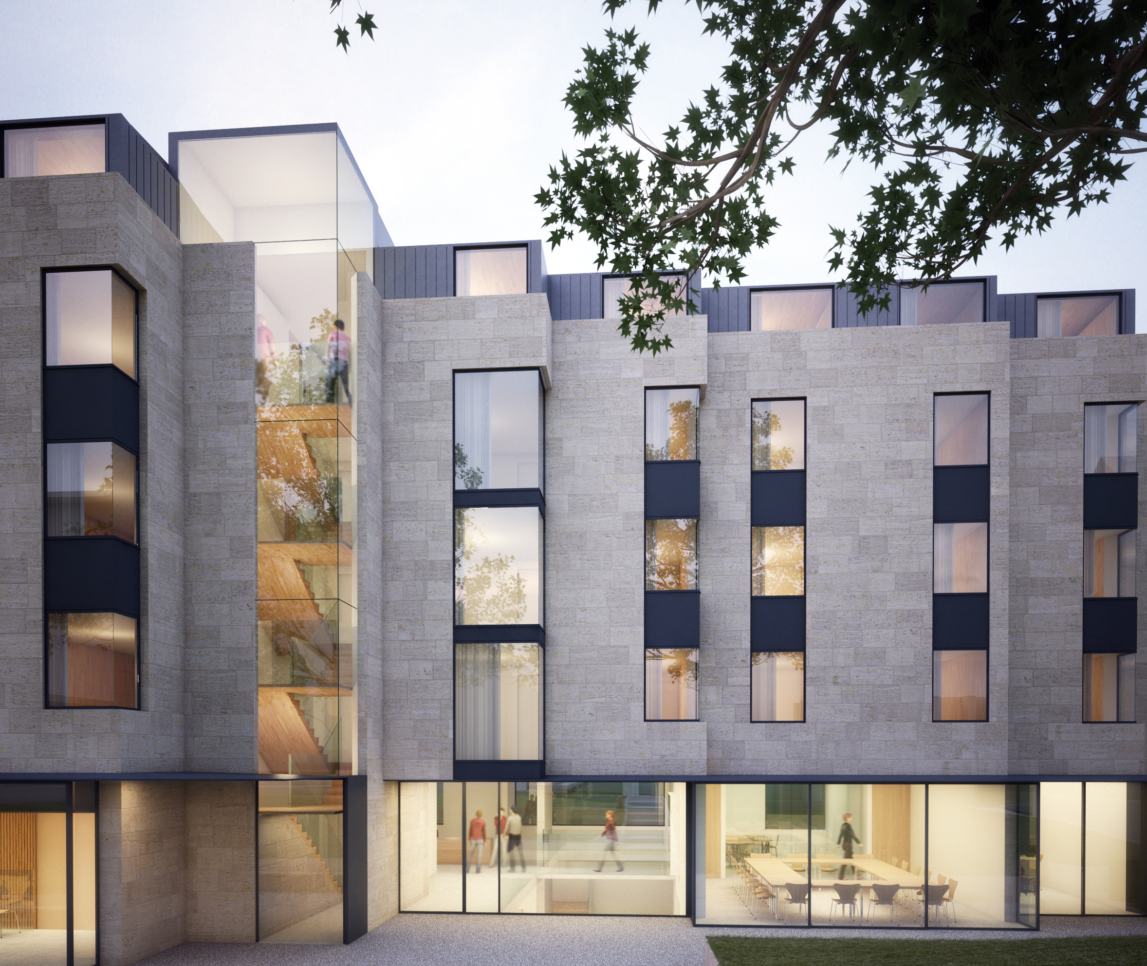 An artist's impression of the new institute. Image: Rick Mathers Architects