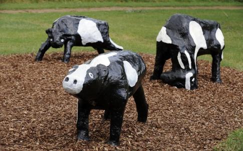 Milton Keynes, Concrete Cows.