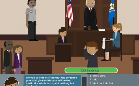 Courtroom game