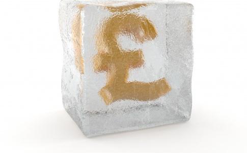 Frozen pound salary pay freeze ice