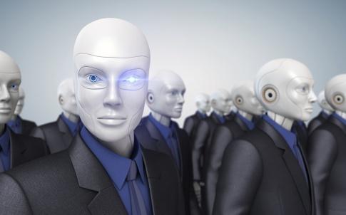 Robot AI cyber
