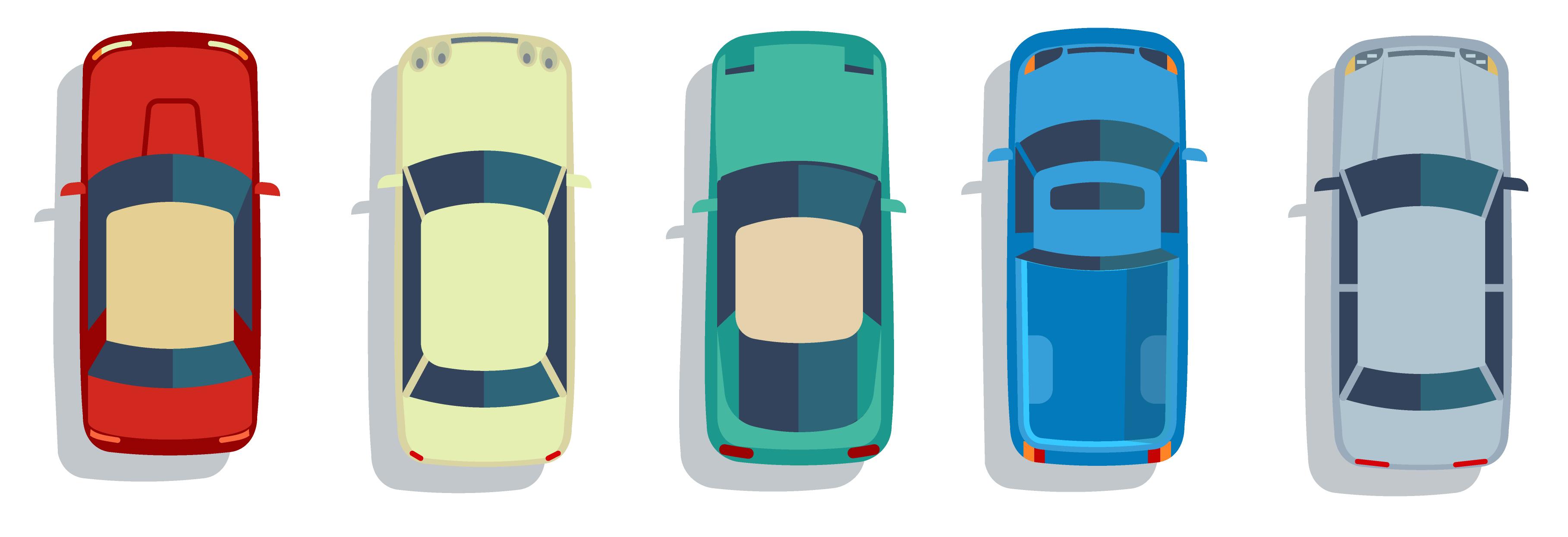 Cars, trucks, Uber