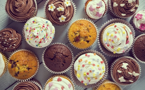 cakes muffins