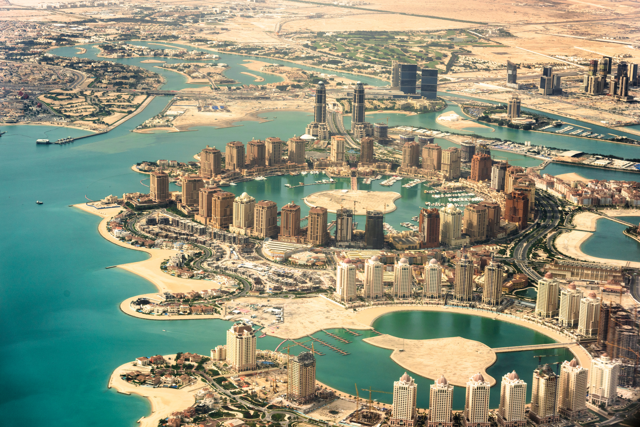 The Pearl of Doha, Qatar