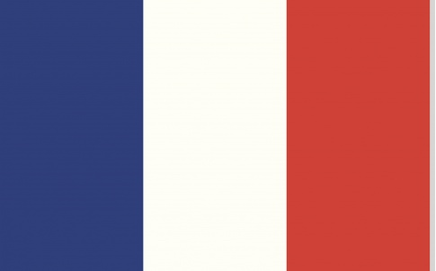 french flag, france