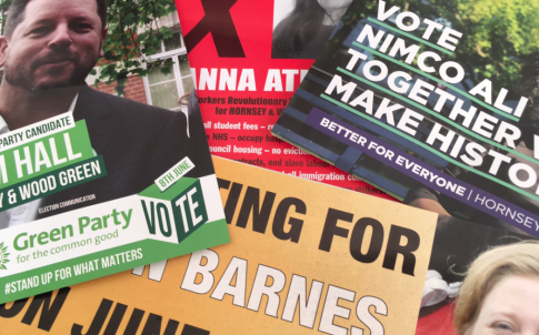 leaflets, politics