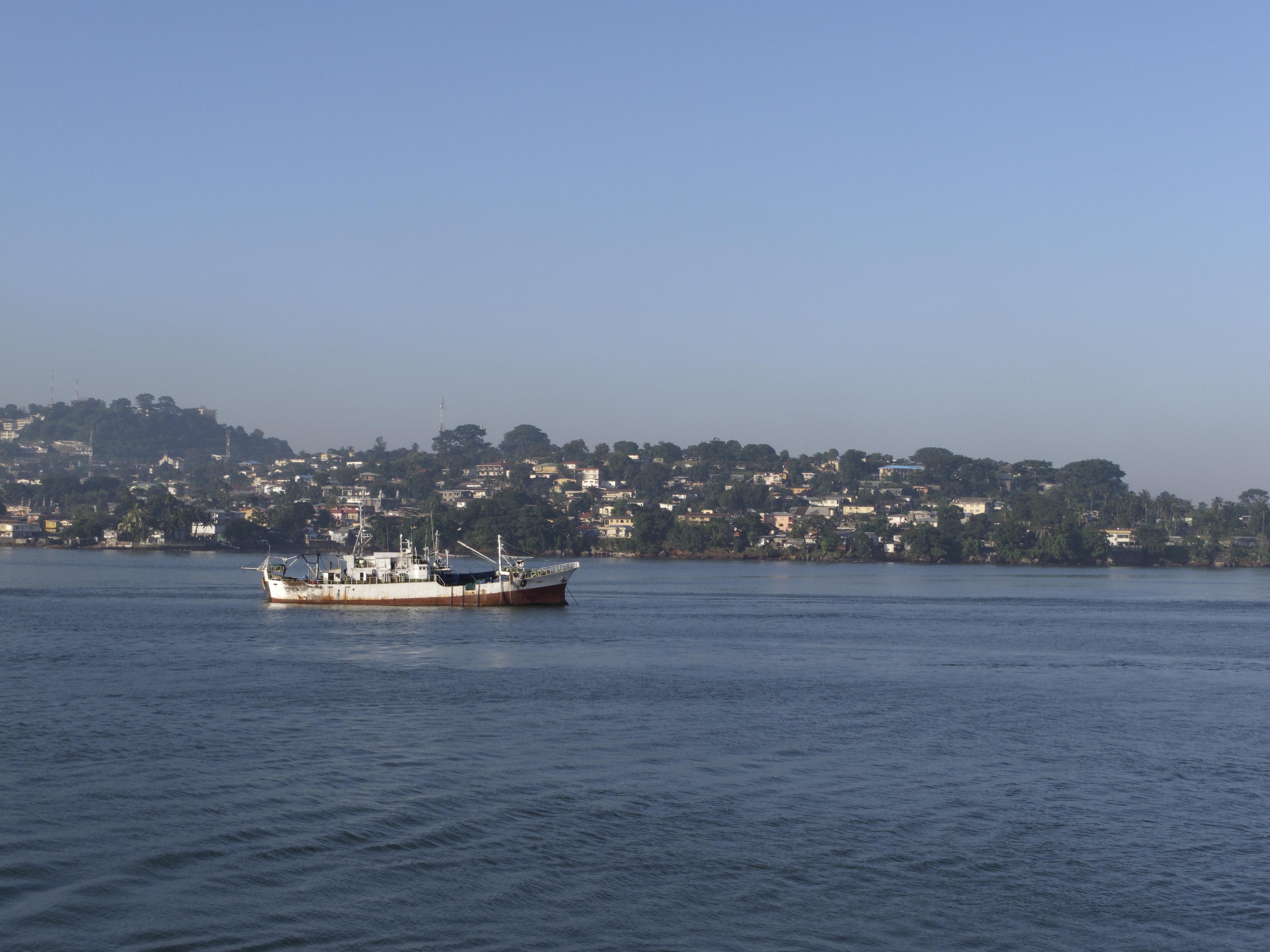 boat lake sea Africa
