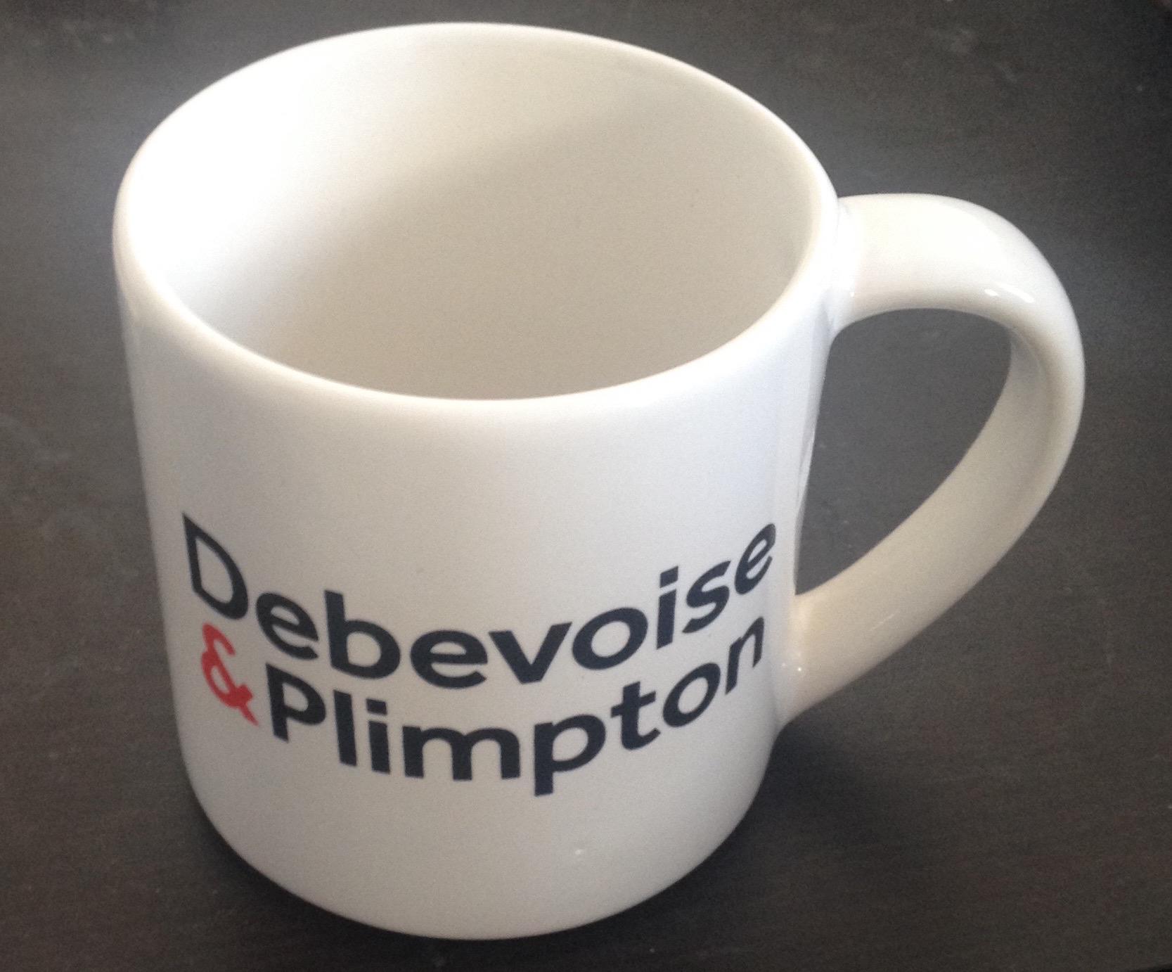 Debevoise big mug