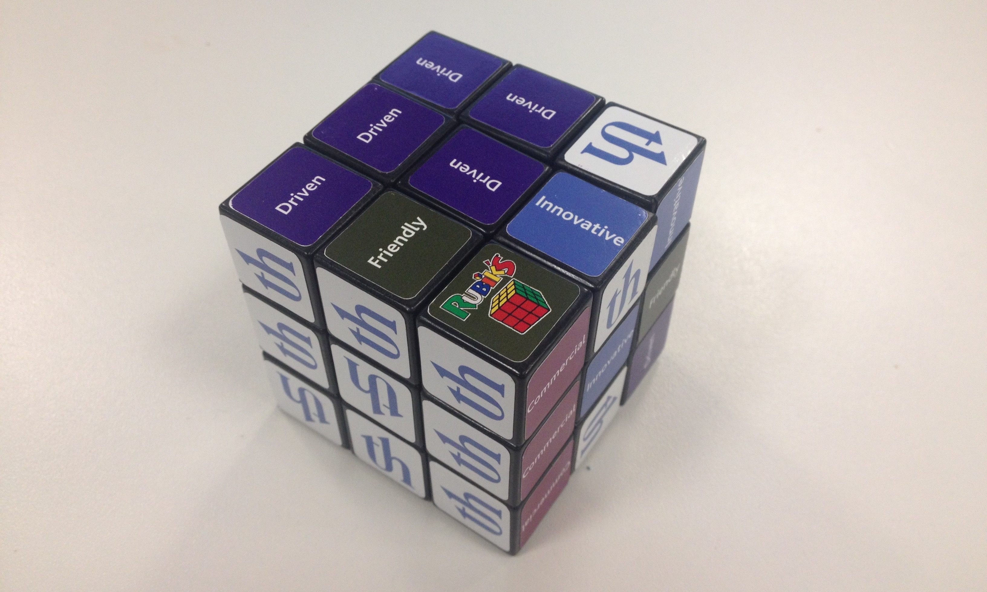 Trowers Rubik's Cube