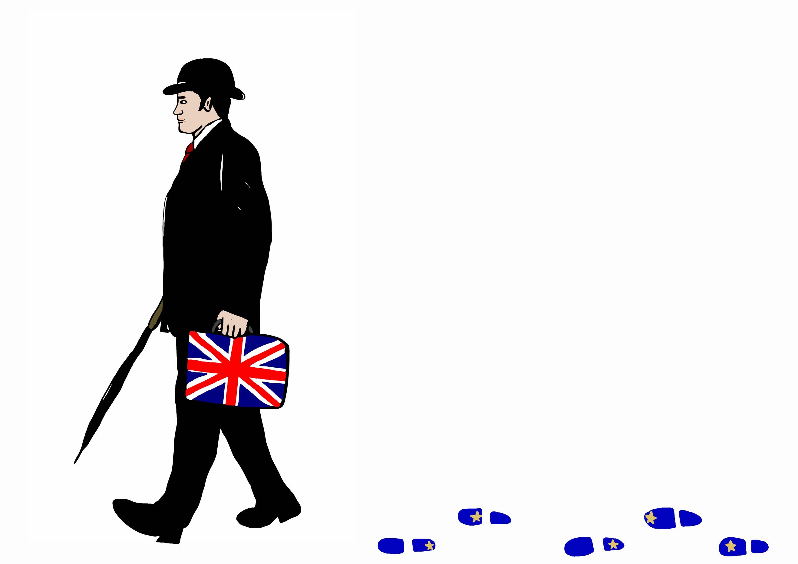 English business man