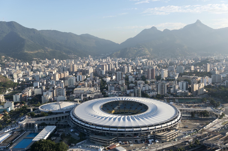 Maracana Stadium Rio Brazil Olympics football